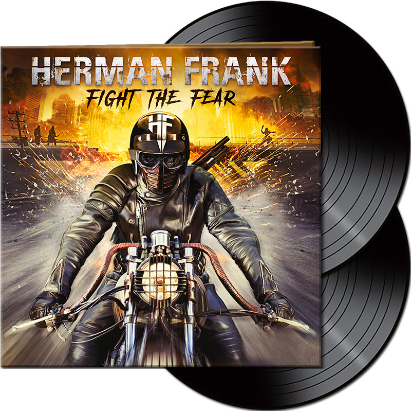 HERMAN FRANK Fight The Fear (2019) Heavy Metal ALLEMAGNE Afm_6811