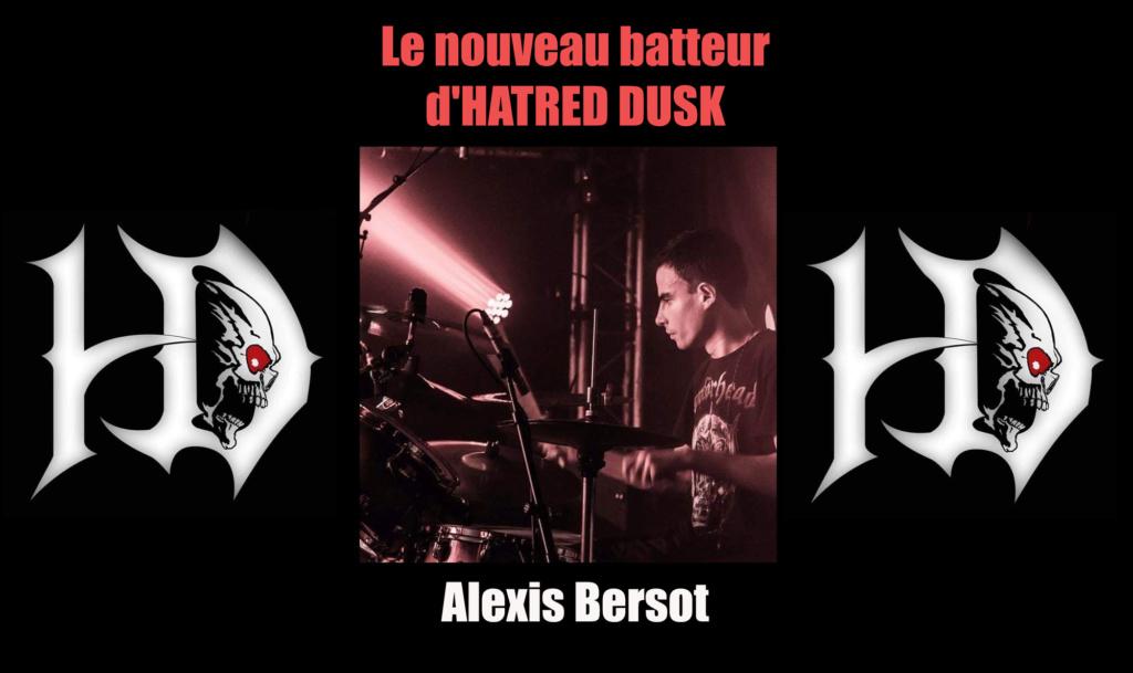 HATRED DUSK Darkness (2018) Vidéo Clip Thrash PARIS Alexis10