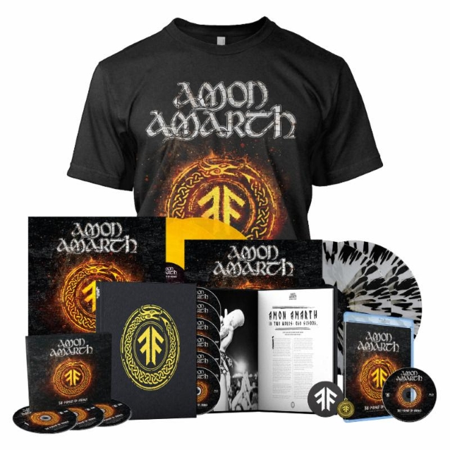AMON AMARTH The Pursuit Of Vikings: 25 Years In The Eye Of The Storm (2018) Metal VIKING !  Amonam10