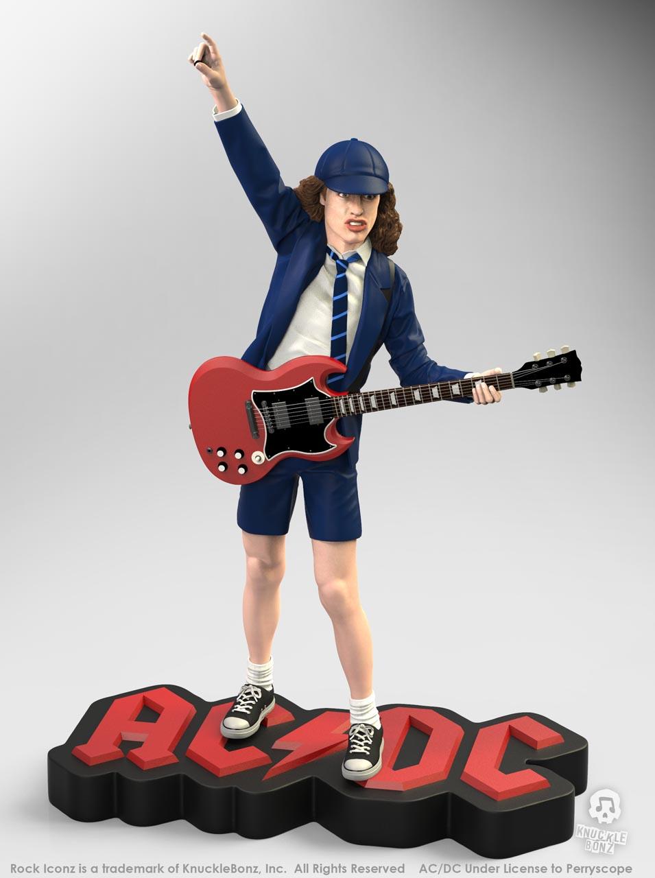 La nouvelle statue d'ANGUS YOUNG 'Rock Iconz' bientôt disponible Angus-10