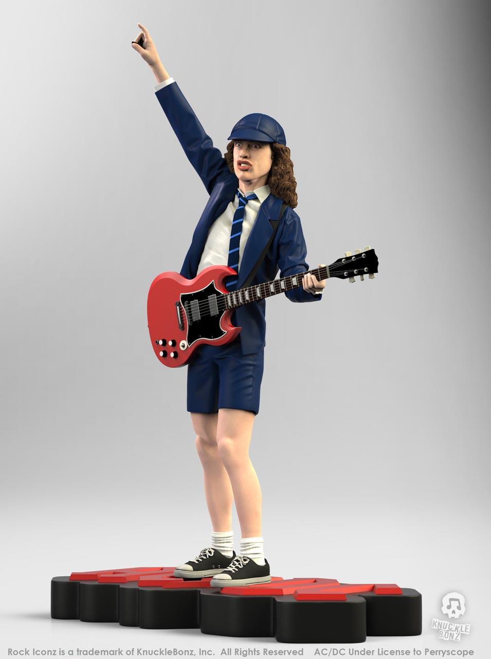 La nouvelle statue d'ANGUS YOUNG 'Rock Iconz' bientôt disponible Angus-11