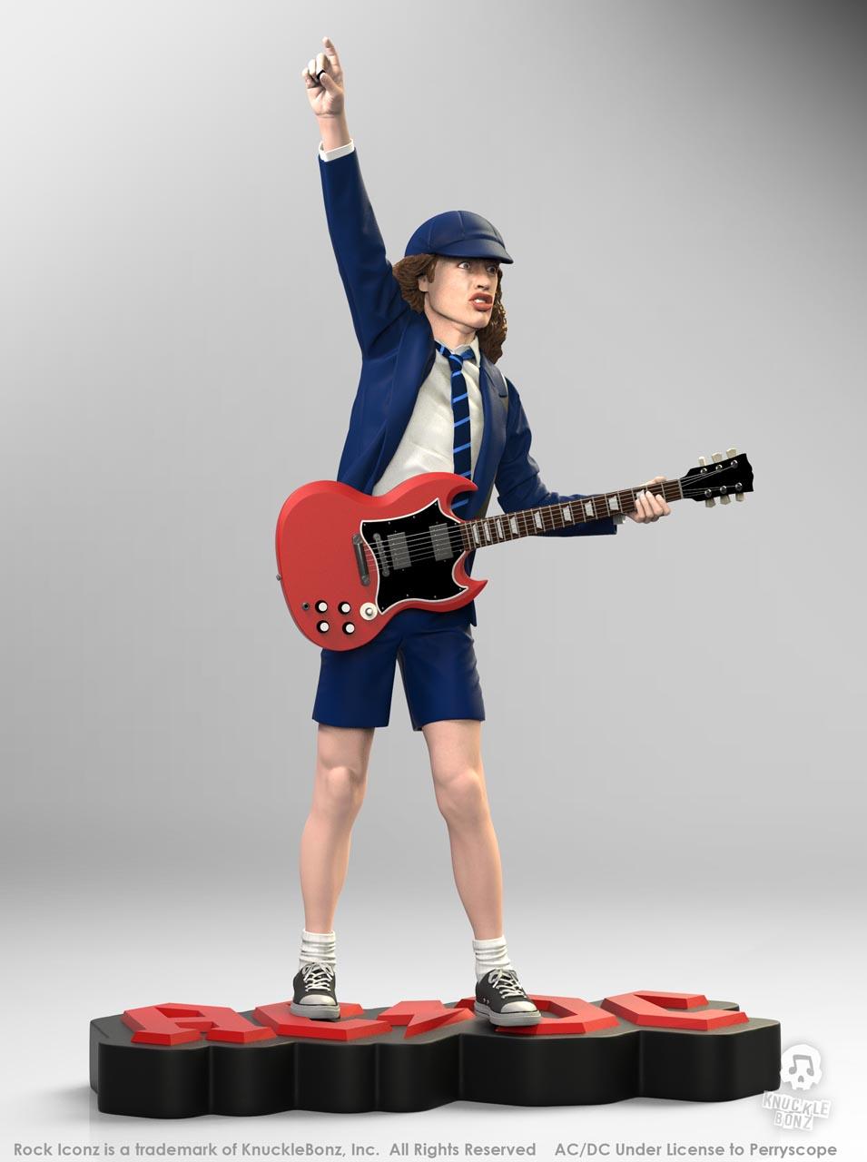 La nouvelle statue d'ANGUS YOUNG 'Rock Iconz' bientôt disponible Angus-12