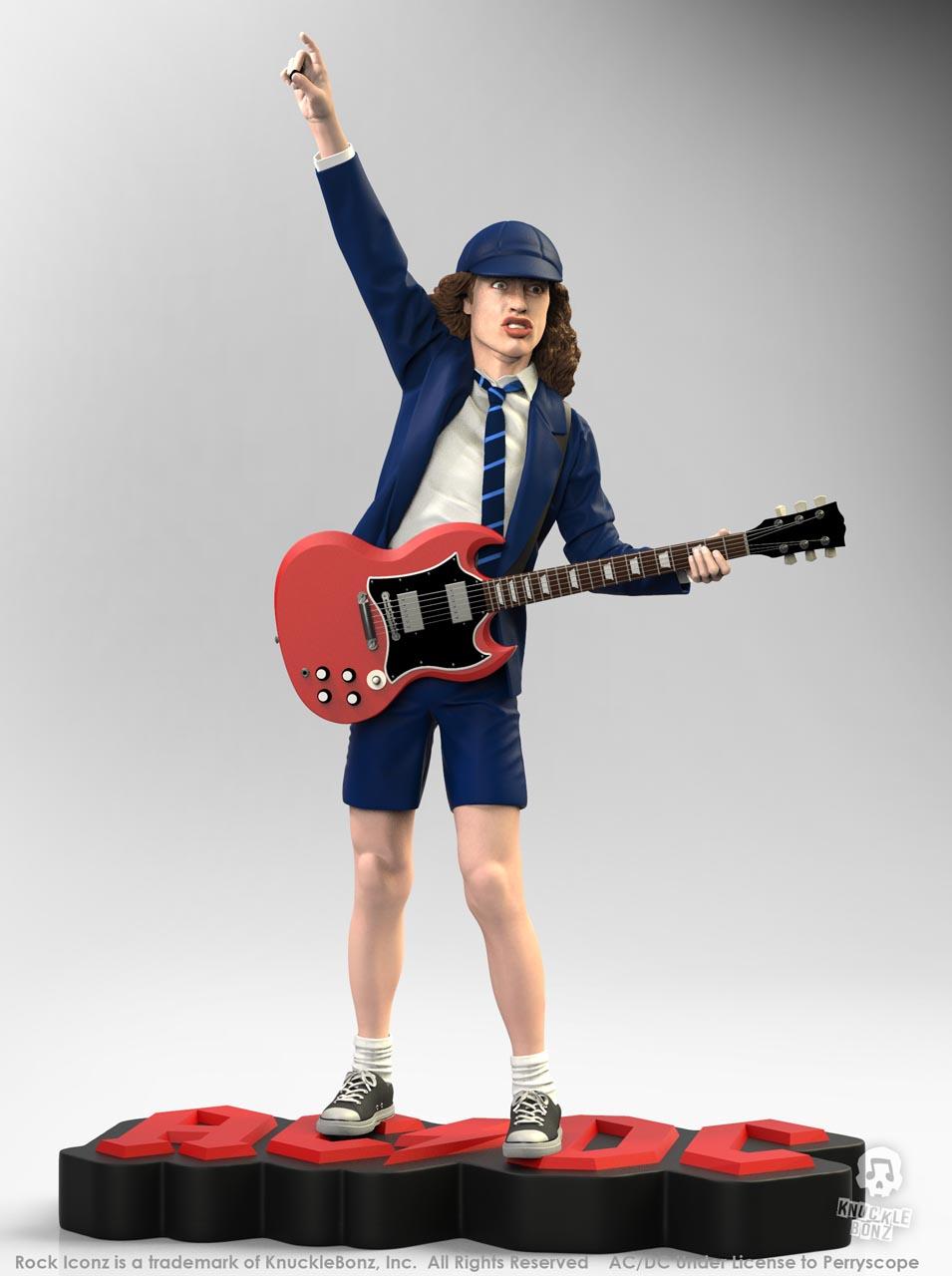 La nouvelle statue d'ANGUS YOUNG 'Rock Iconz' bientôt disponible Angus-13