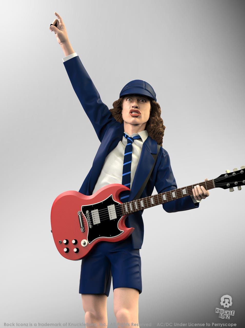 La nouvelle statue d'ANGUS YOUNG 'Rock Iconz' bientôt disponible Angus-14