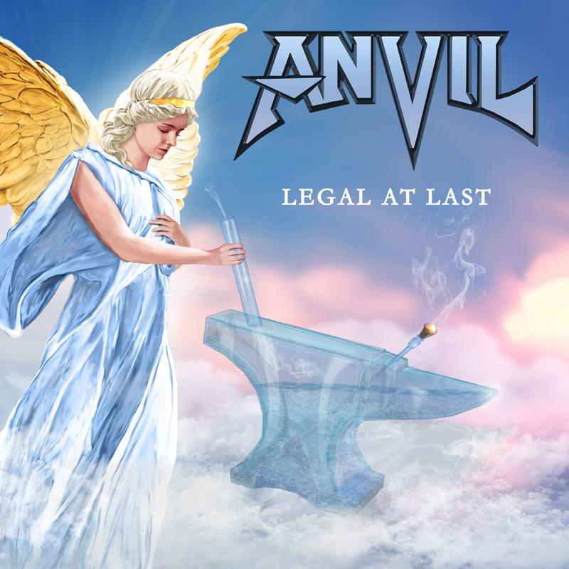 ANVIL Legal At Last (2020) Canada Heavy Metal Anvil210
