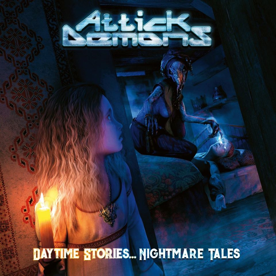 ATTICK DEMONS Daytime Stories ... Nightmare Tales (2020) Heavy Metal PORTUGAL Attick10