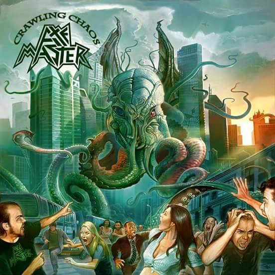 AXEMASTER Crawling Chaos (2017) Heavy Metal USA Axemas10