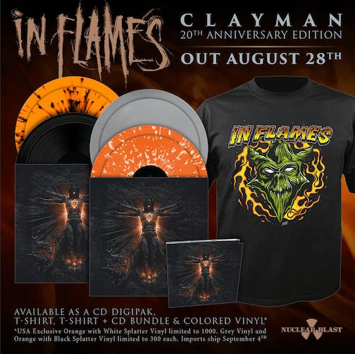 IN FLAMES   Clayman (20th Anniversary Edition) B0a28b10