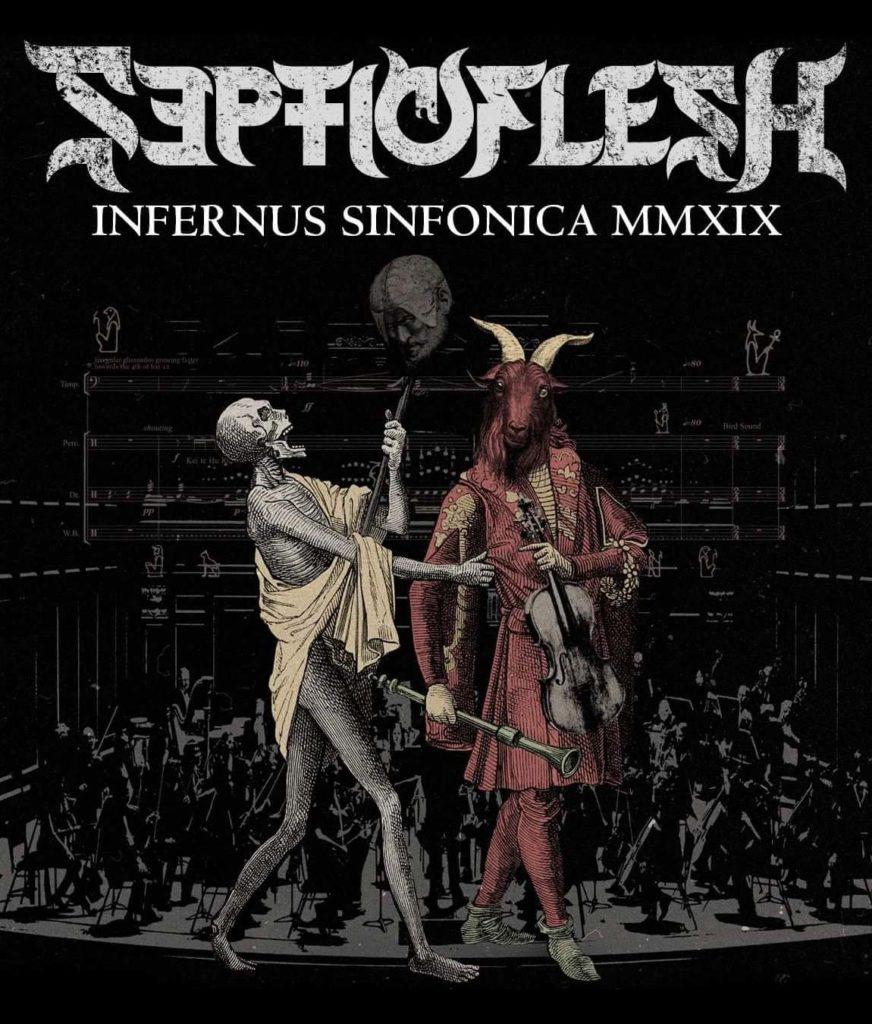 SEPTICFLESH Infernus Sinfonica MMXIX (2020) Bluray/DVD - Death Metal Symphonic Grèce  B467c910