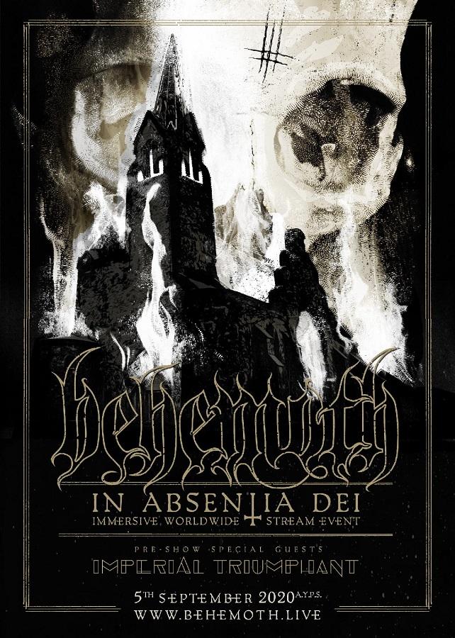 BEHEMOTH va donner un concert dans une église le 05 septembre 2020 ... Behemo12