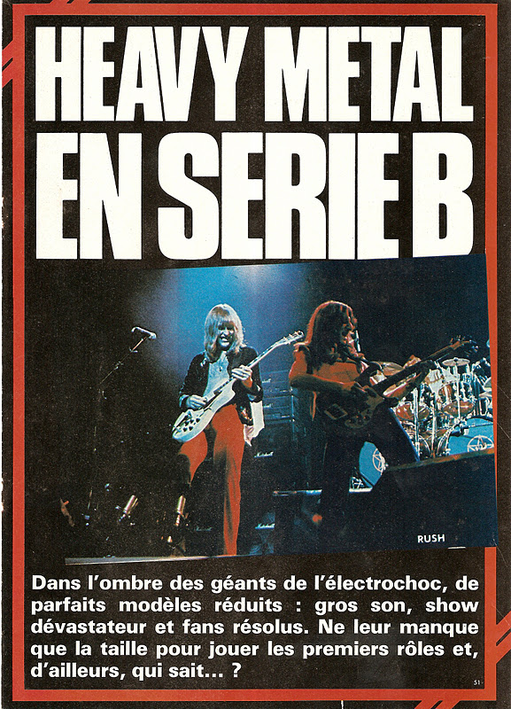 "Heavy Metal en Série B ... (Archive ""Best"" Septembre 1977) Best1110"