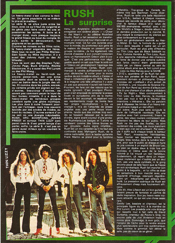 "Heavy Metal en Série B ... (Archive ""Best"" Septembre 1977) Best1111"
