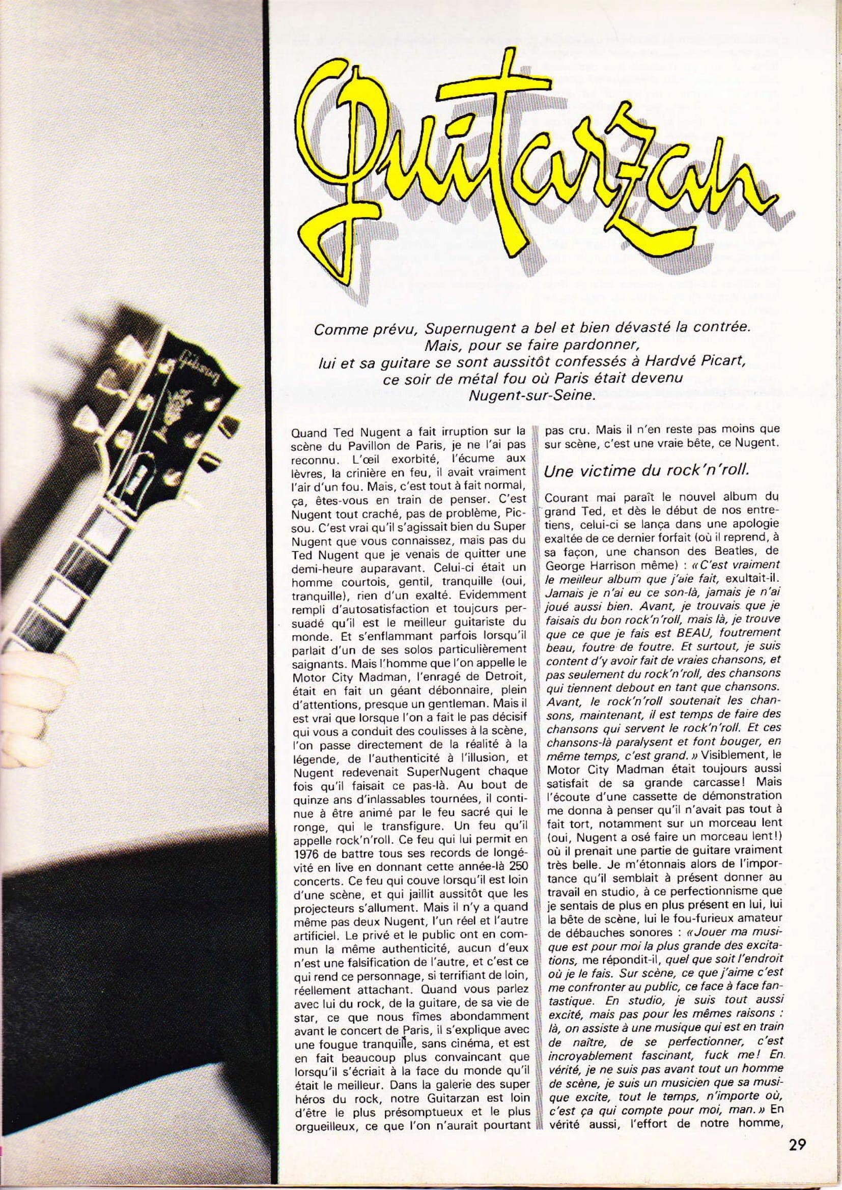 TED NUGENT dans BEST N°131 Juin 79 (Archive à lire) Best_112