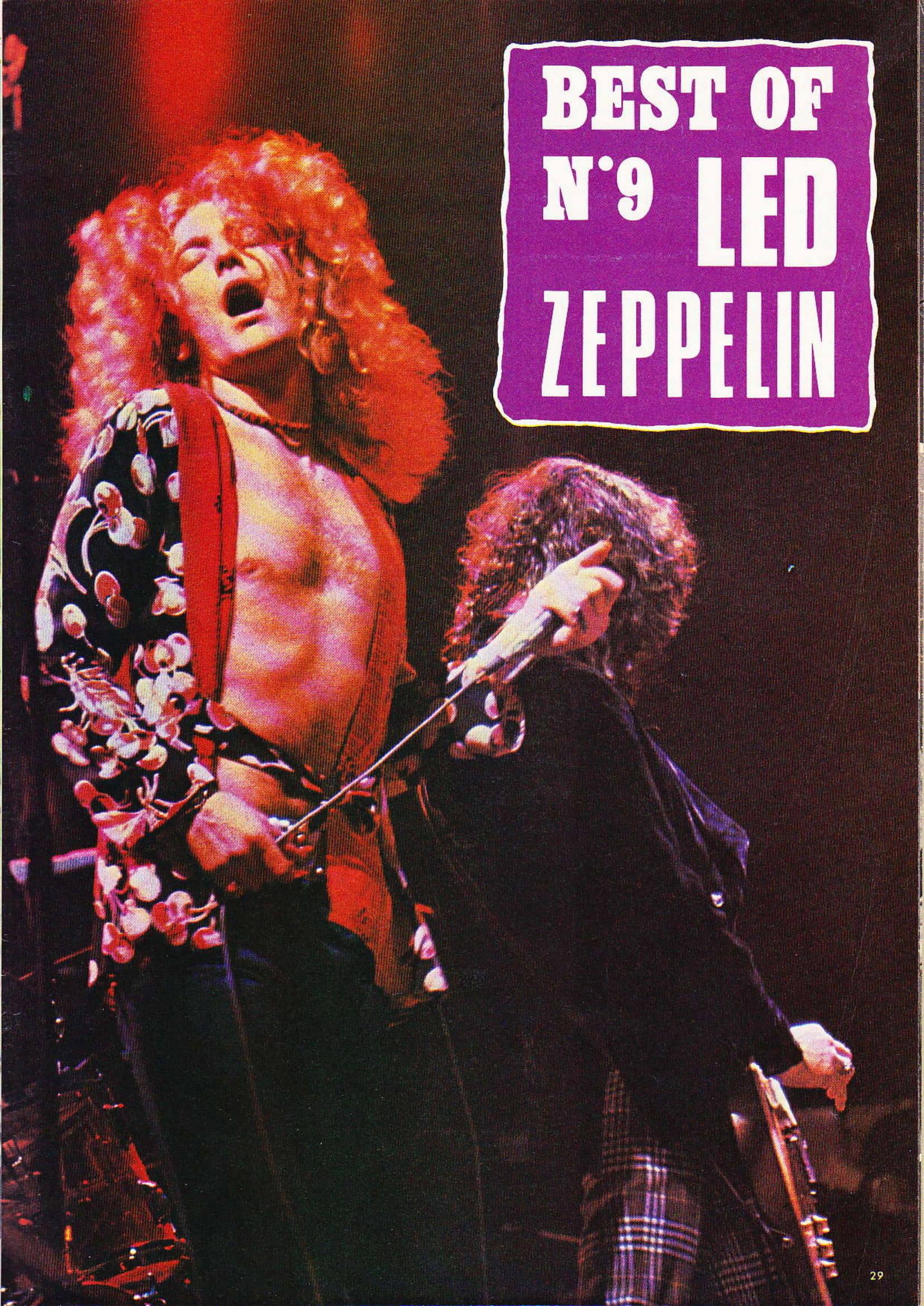 LED ZEPPELIN dans BEST N°93 Avril 1976 (Archive à lire) Best_914