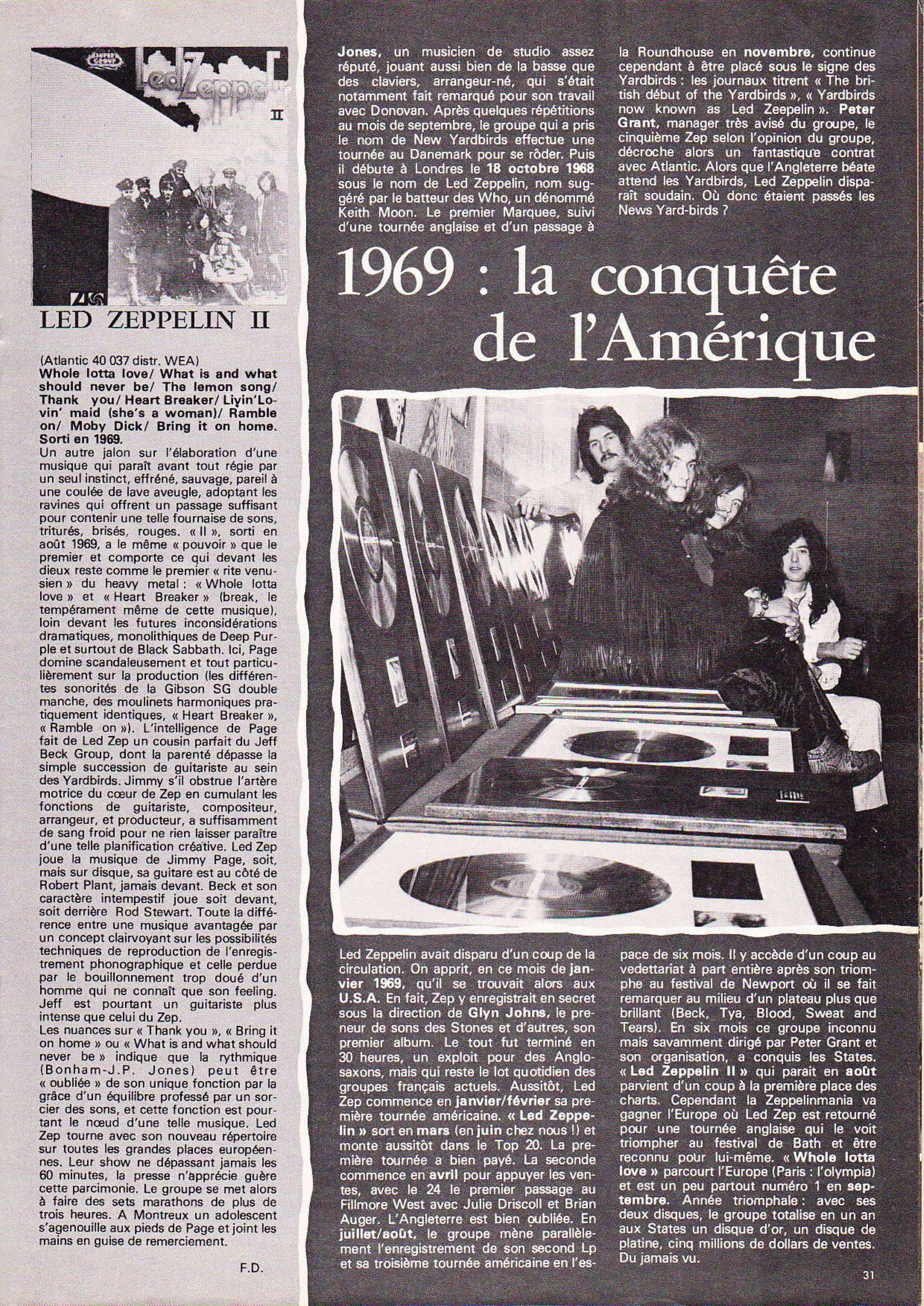 LED ZEPPELIN dans BEST N°93 Avril 1976 (Archive à lire) Best_916