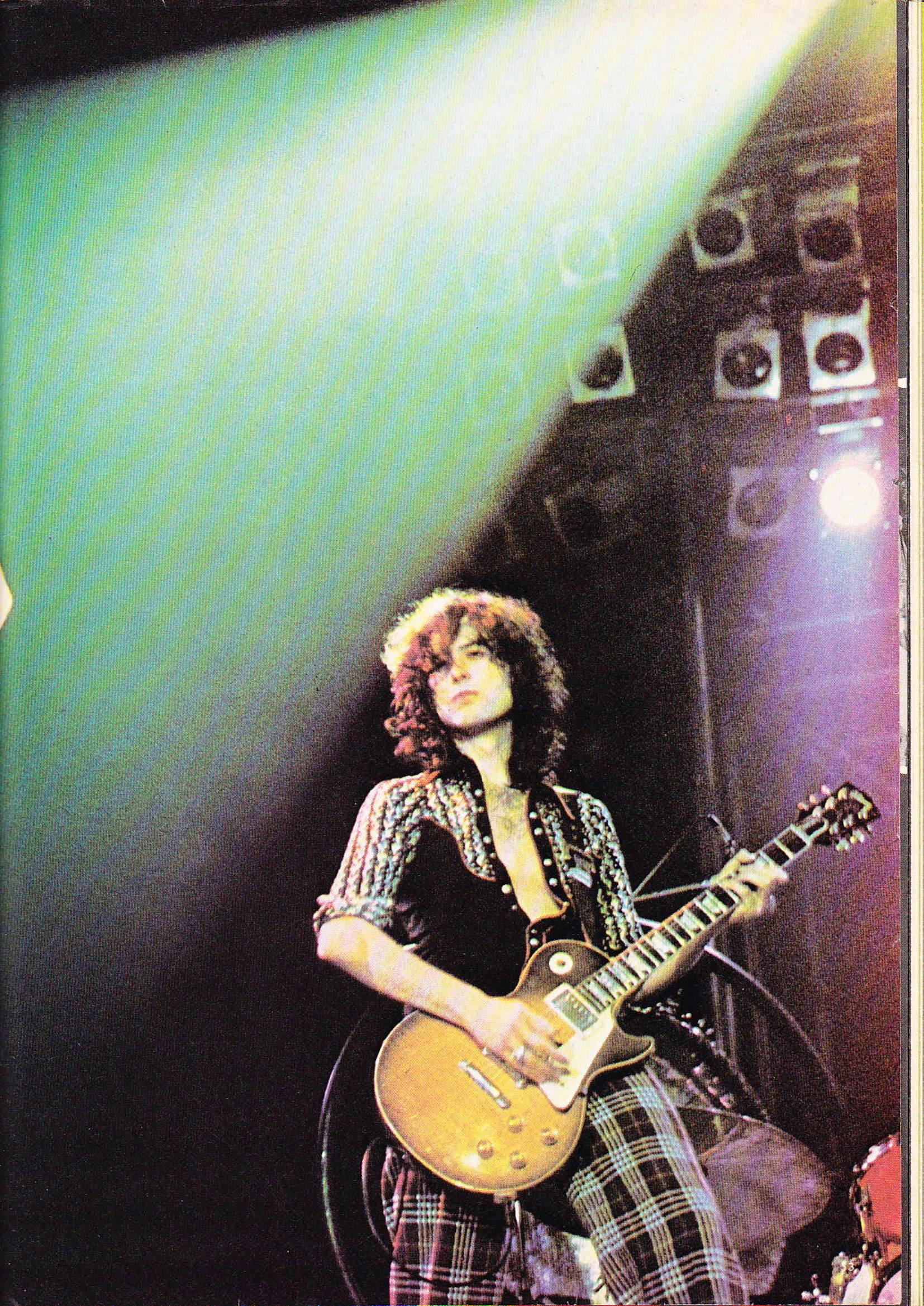 LED ZEPPELIN dans BEST N°93 Avril 1976 (Archive à lire) Best_920