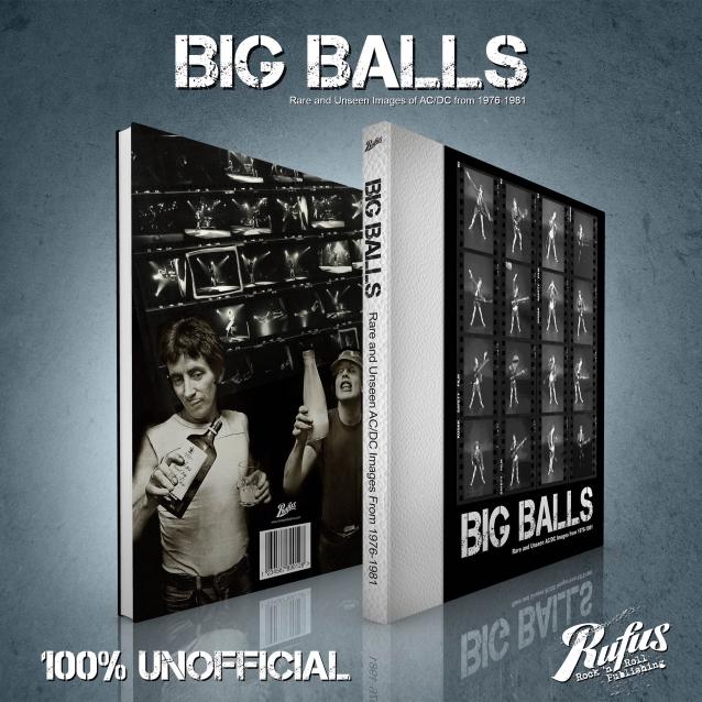 BIG BALLS - Rare And Unseen AC/DC Images From 1976-1981. Un nouveau livre sur AC/DC. Bigbal10