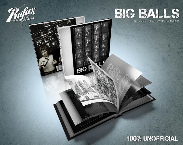 BIG BALLS - Rare And Unseen AC/DC Images From 1976-1981. Un nouveau livre sur AC/DC. Bigbal12