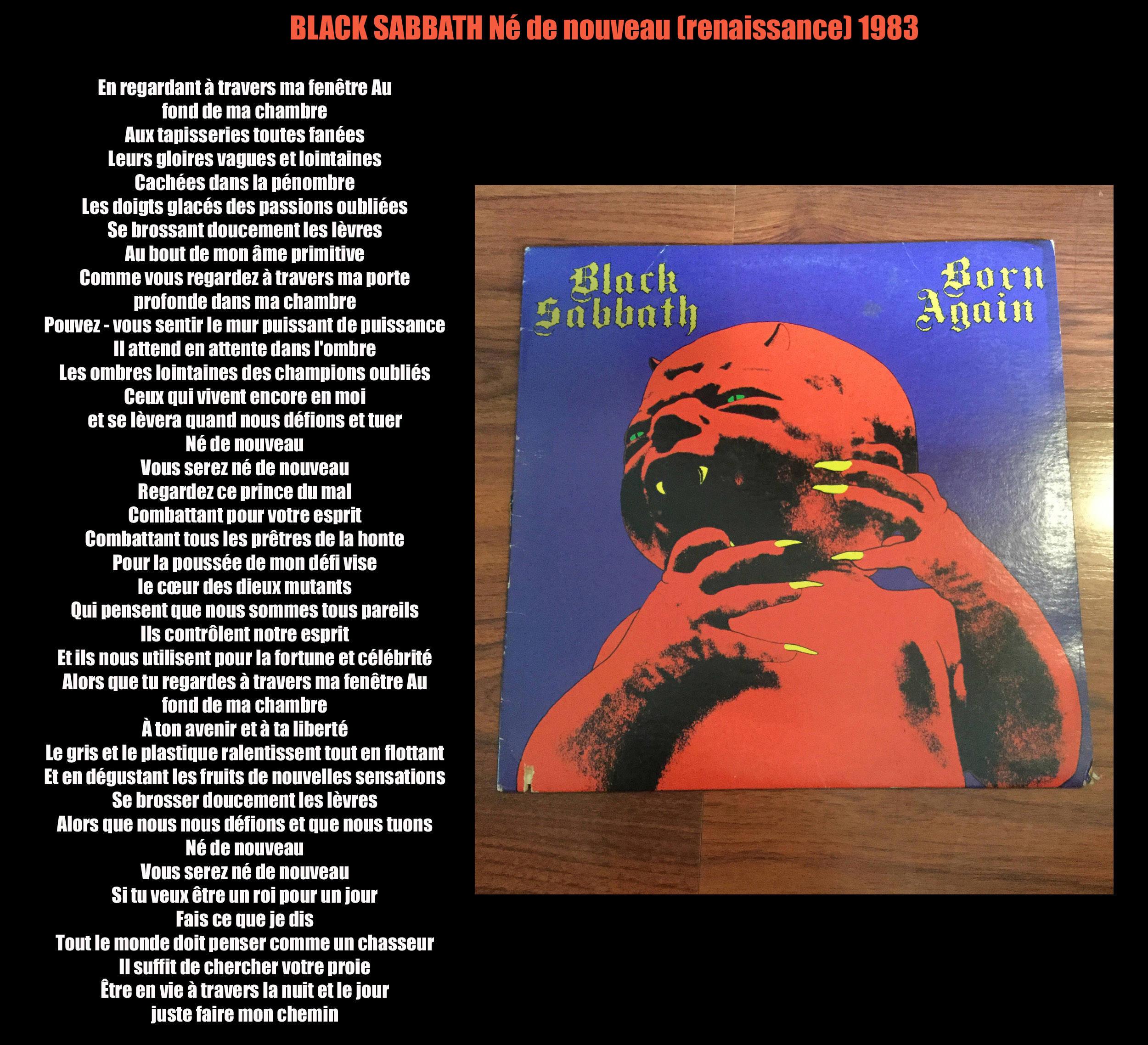 BLACK SABBATH Born Again (traduction) Black_10