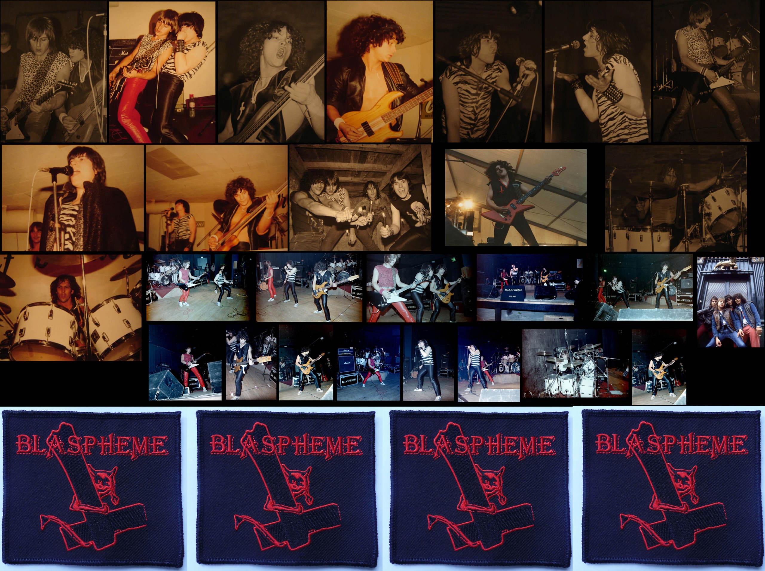 BLASPHEME : interview audio RADIO SOLEIL en 1983 ... Blasph10