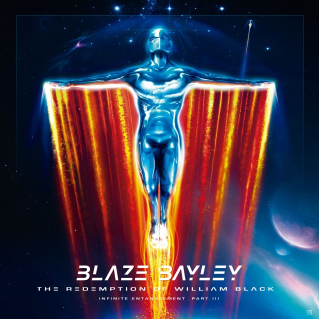 BLAZE BAYLEY The Redemption Of William Black (Infinite Entanglement part 3) (2018) Heavy Métal ANGLETERRE  Blazeb10