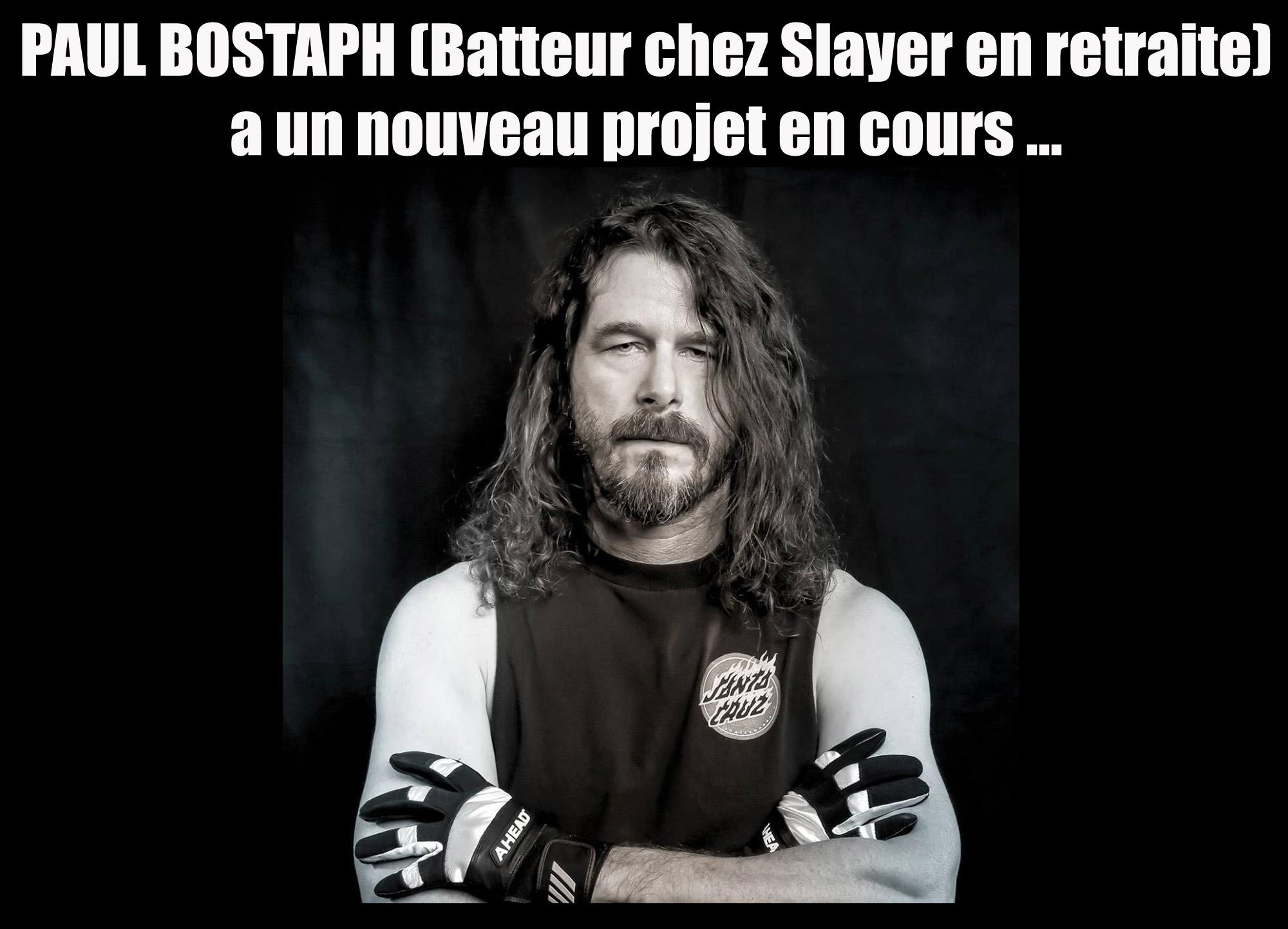 PAUL BOSTAPH (Ancien batteur de Slayer) ... Bostap10