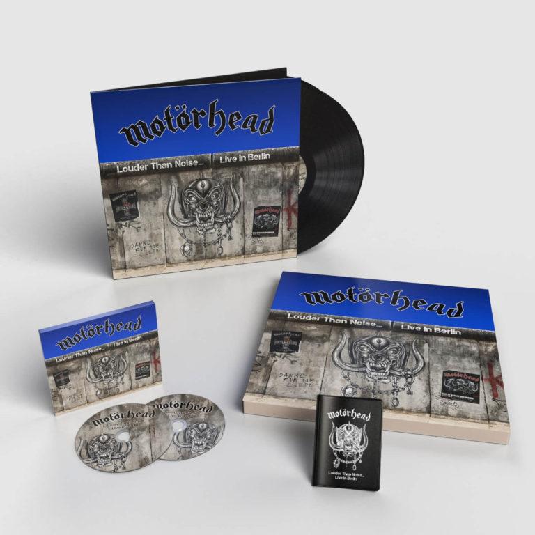 MOTÖRHEAD Louder Than Noise… Live In Berlin (2021)  Boxset10