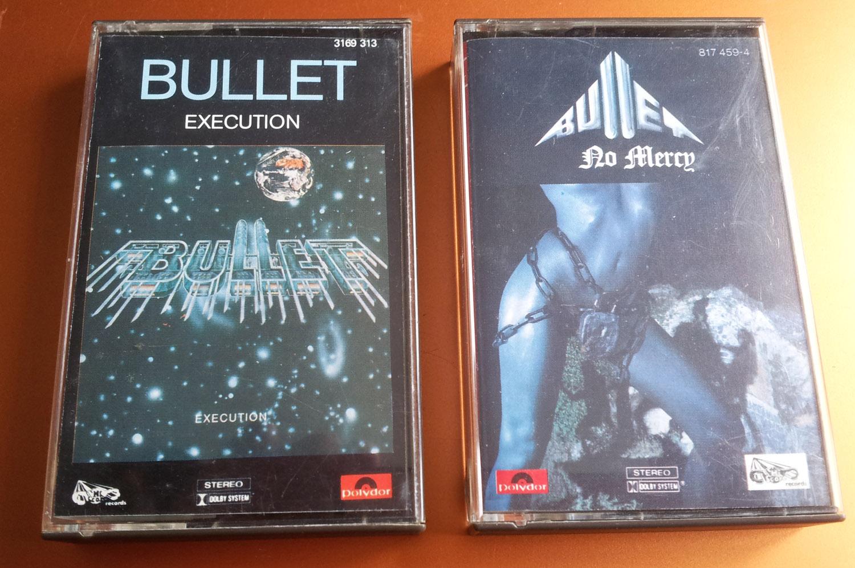 Bullet - No Mercy - 1983 - Allemagne Bu310