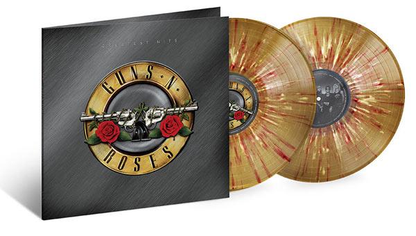 Les plus grands succès de Guns N 'Roses publiés pour la première fois sur vinyle ! Colour10