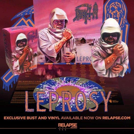DEATH Leprosy (1988/2019) Réédition + Bust figurine chez RELASPSE RECORDS D_sktg10