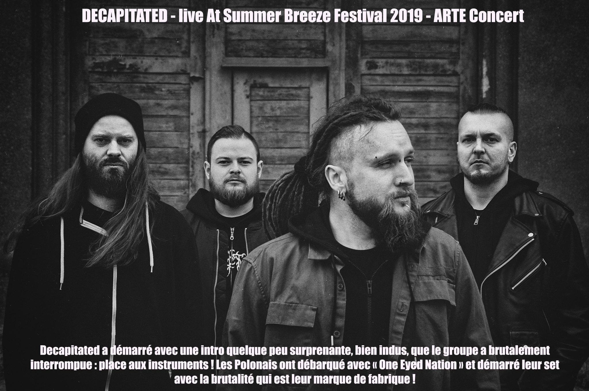 DECAPITATED live At Summer Breeze Festival 2019 - ARTE Concert Decapi11