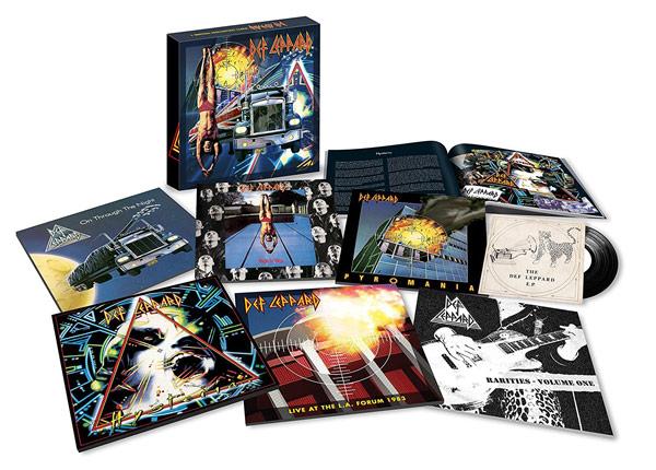 Rééditions des 4 premiers albums de DEF LEPPARD CD et Vinyles + inédit ... Deflep10