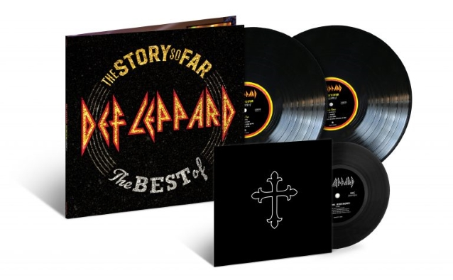 DEF LEPPARD The Story So Far – The Best Of ... (2018) Hard Rock ANGLETERRE Deflep12