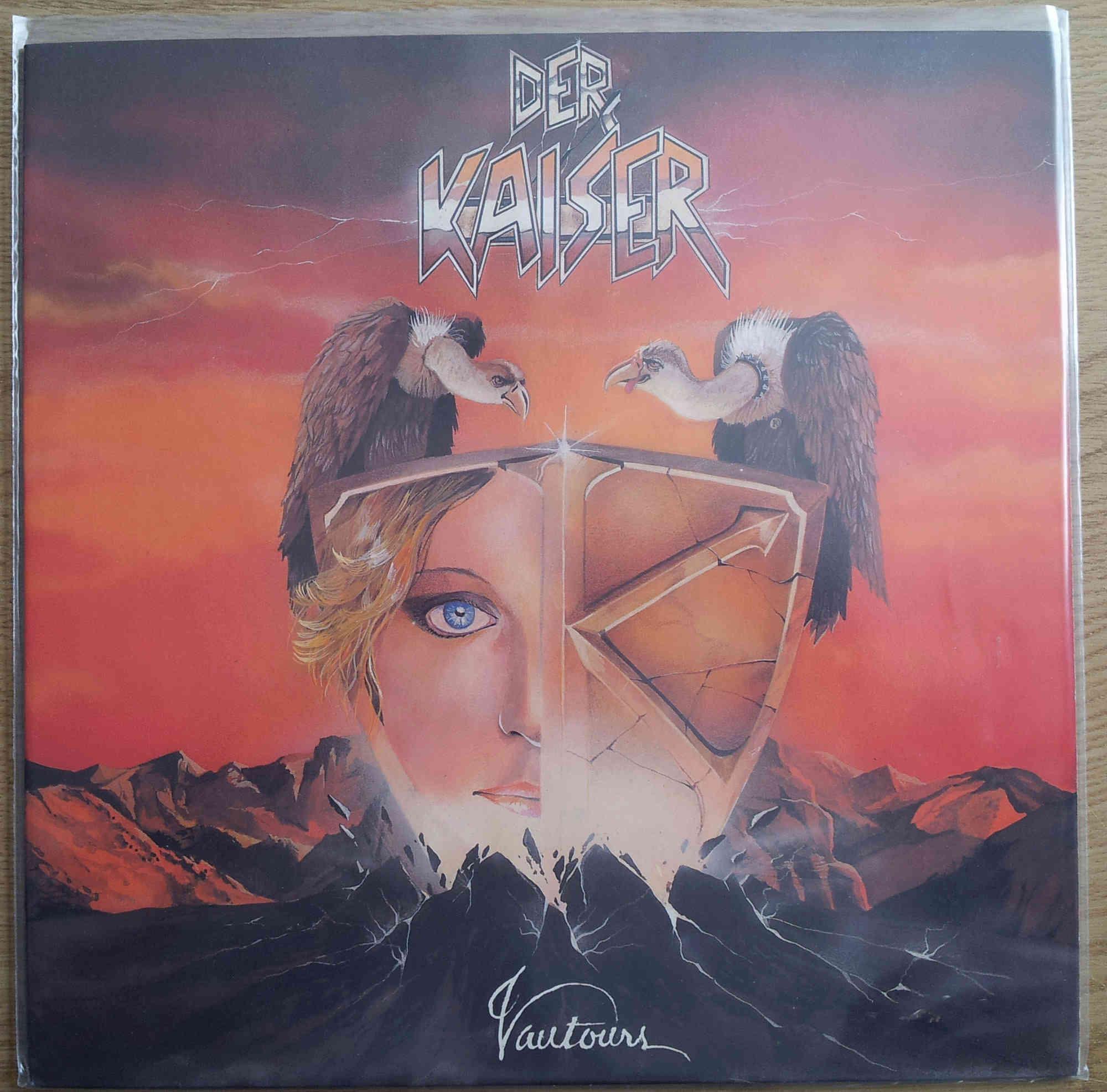 DER KAISER toutes les paroles de l'album : VAUTOURS (1984) Der_ka14