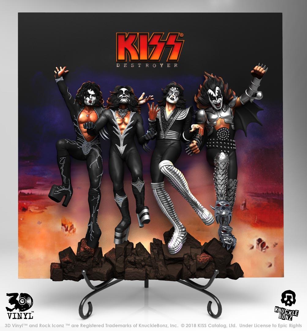 KISS en vinyle 3D et c'est plutôt réussi ... Destro10