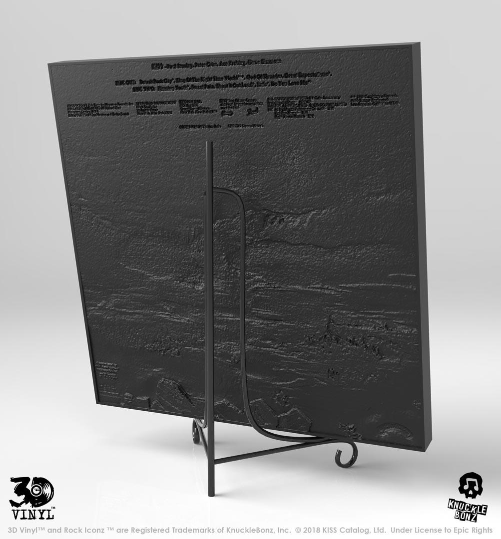 KISS en vinyle 3D et c'est plutôt réussi ... Destro11