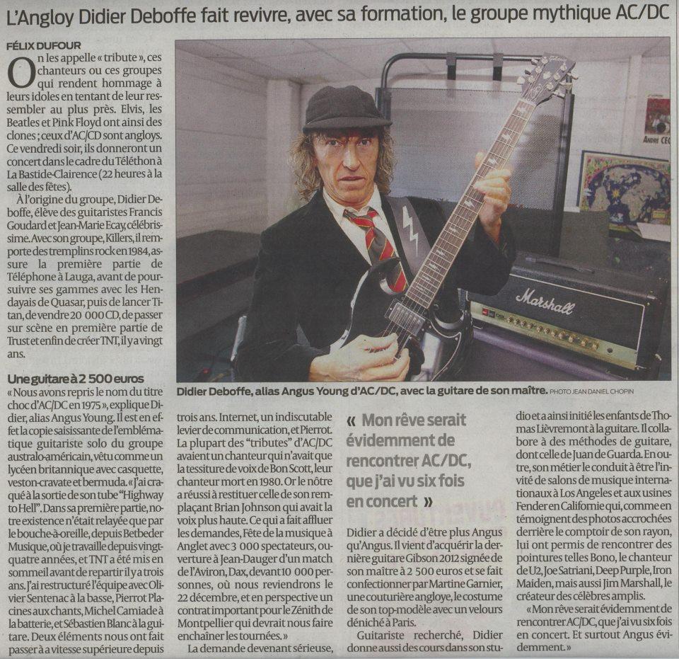 T.N.T le tribute AC/DC qui nous arrive de Bayonne ... Didier10