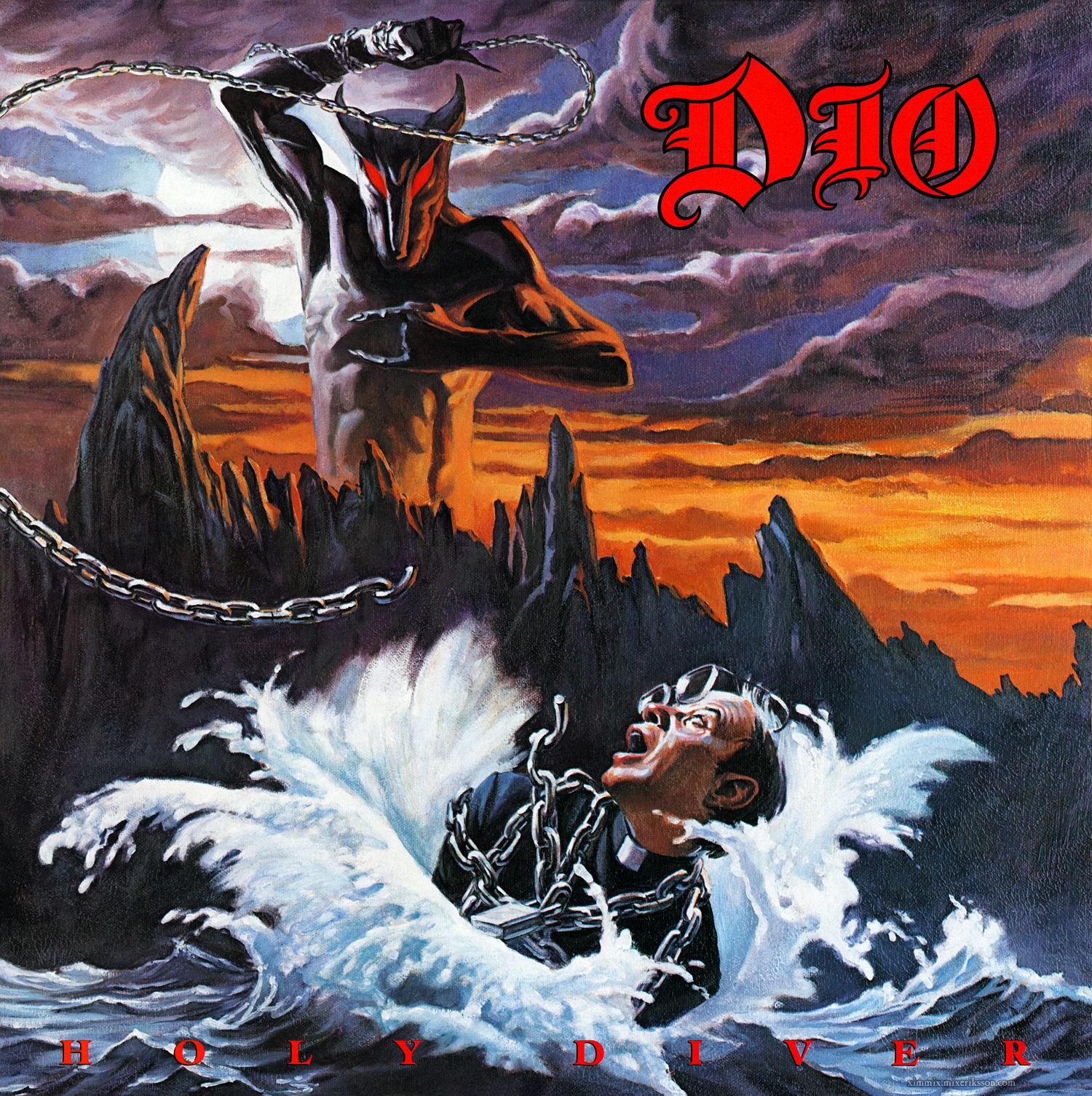 "RONNIE JAMES DIO explique la pochette de ""Holy Diver"" ... Dio_ho10"