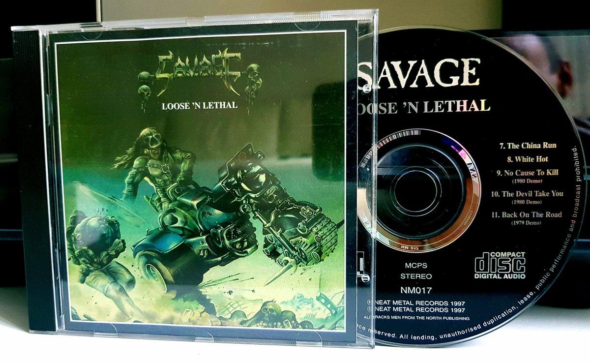 SAVAGE Loose 'N Lethal (1983) Heavy Metal ANGLETERRE Dllxrn10