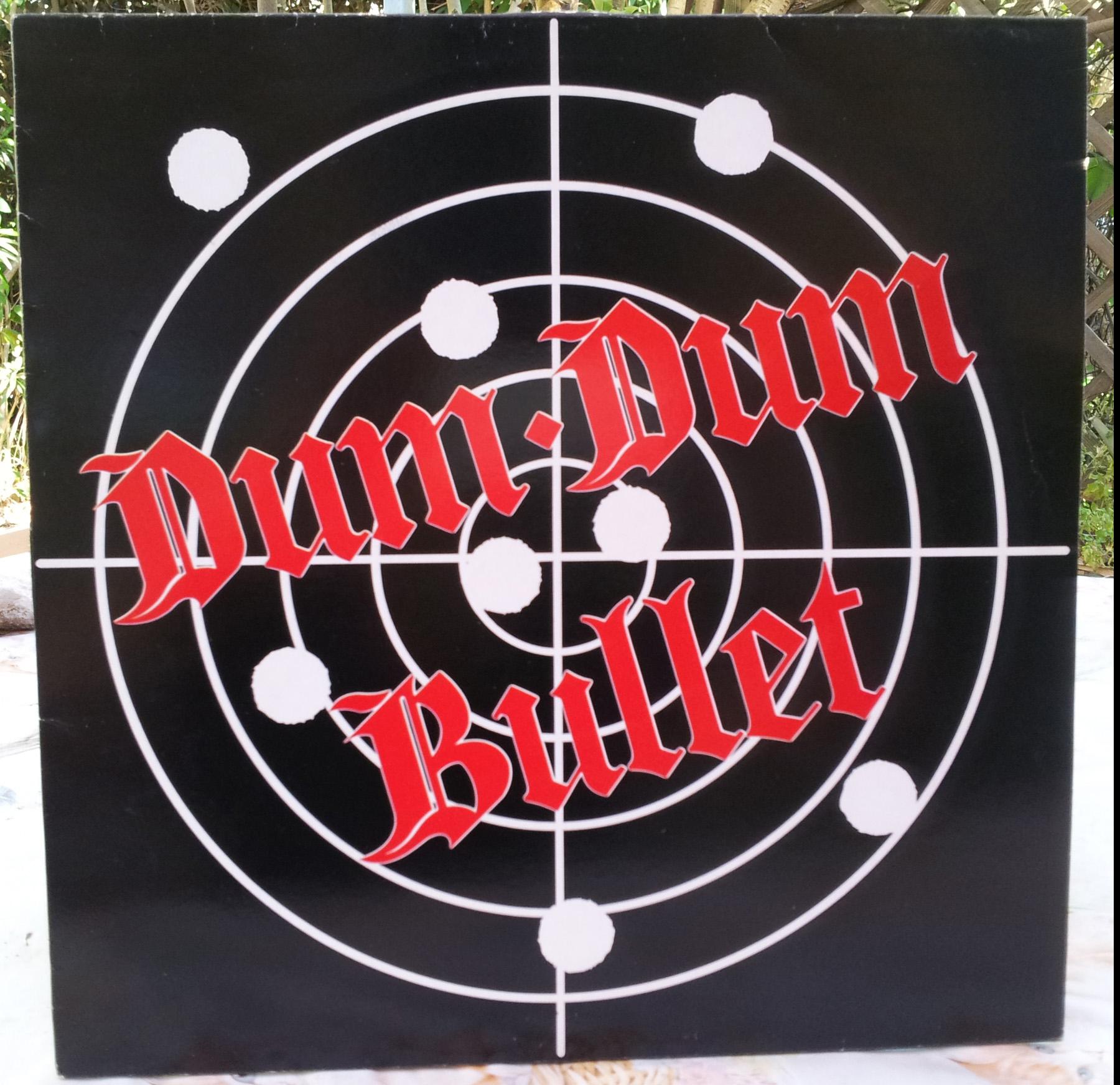 DUM DUM BULLET 1er album (1986) 33 tours - le vinyle vu de plus près ...   Dum_du11