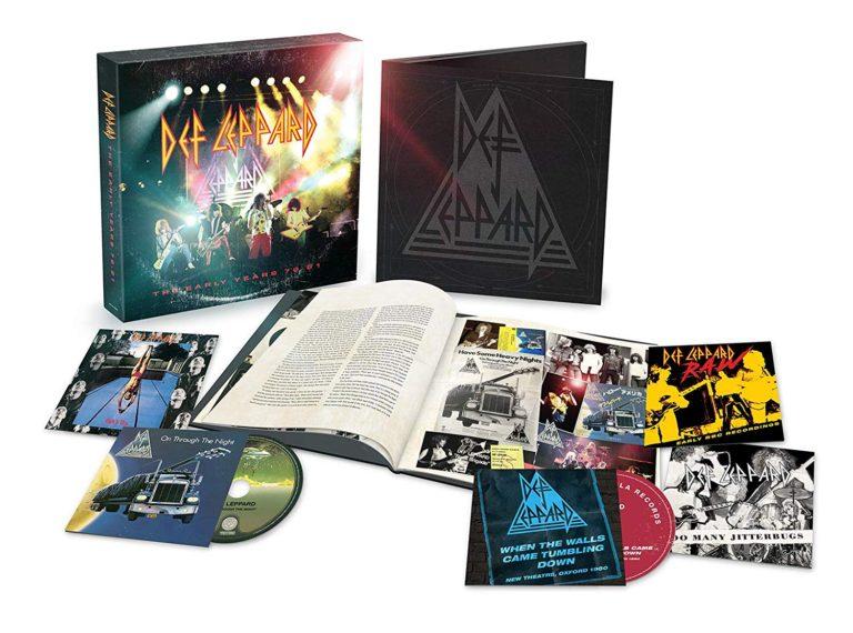 DEF LEPPARD Hysteria sort en direct sur Blu-ray, DVD, CD et coffrets ... Earlyy10