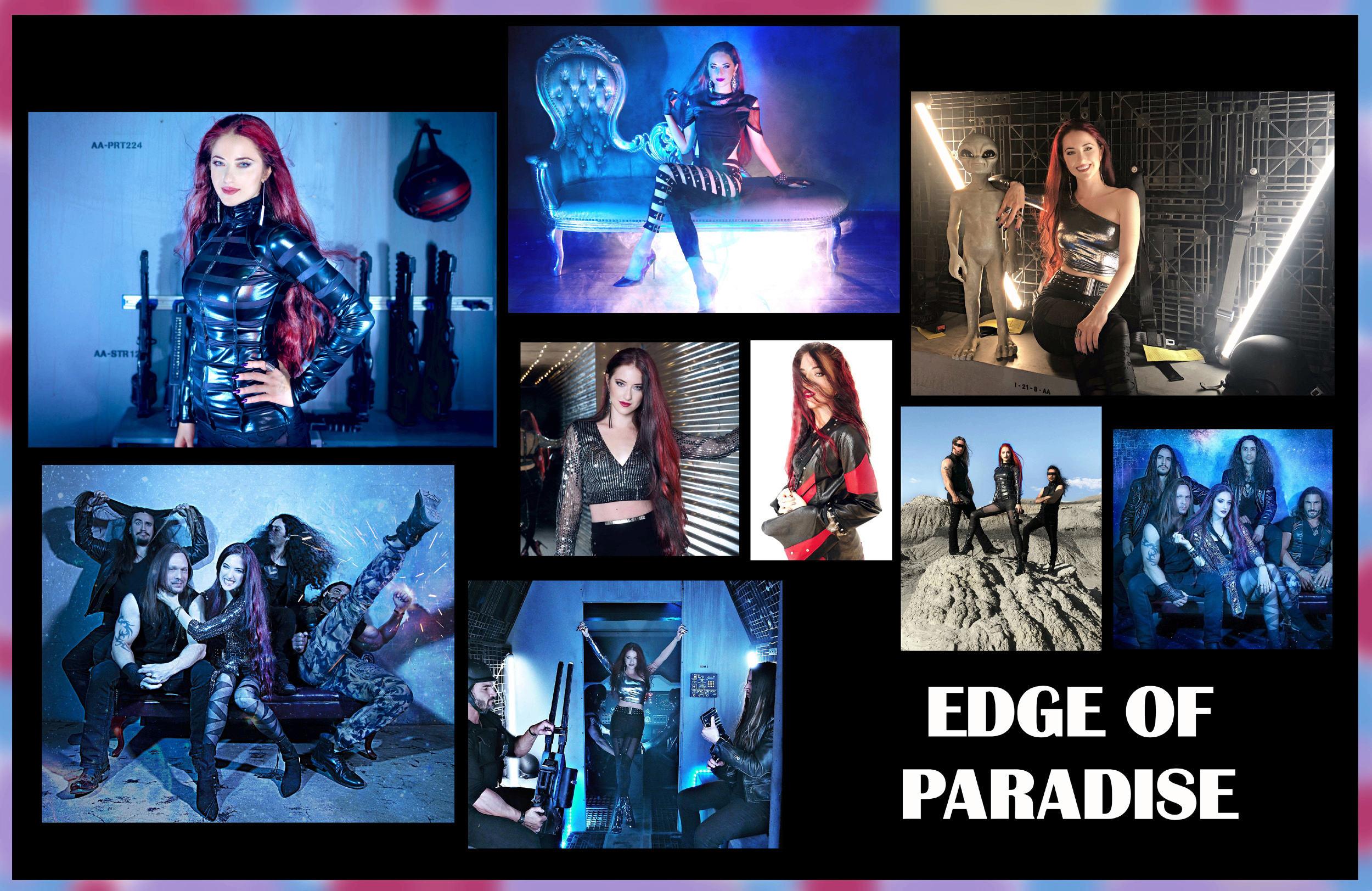 EDGE OF PARADISE Universe (2019) Hard Rock Modern U.S.A Edge10