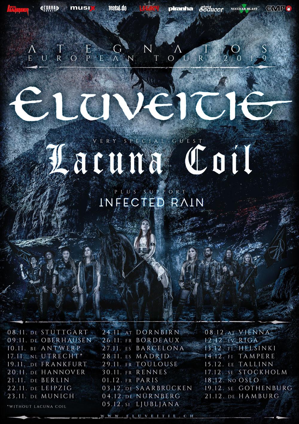 ELUVEITIE dévoile la cover du nouvel album 2019 ... Eluvei11