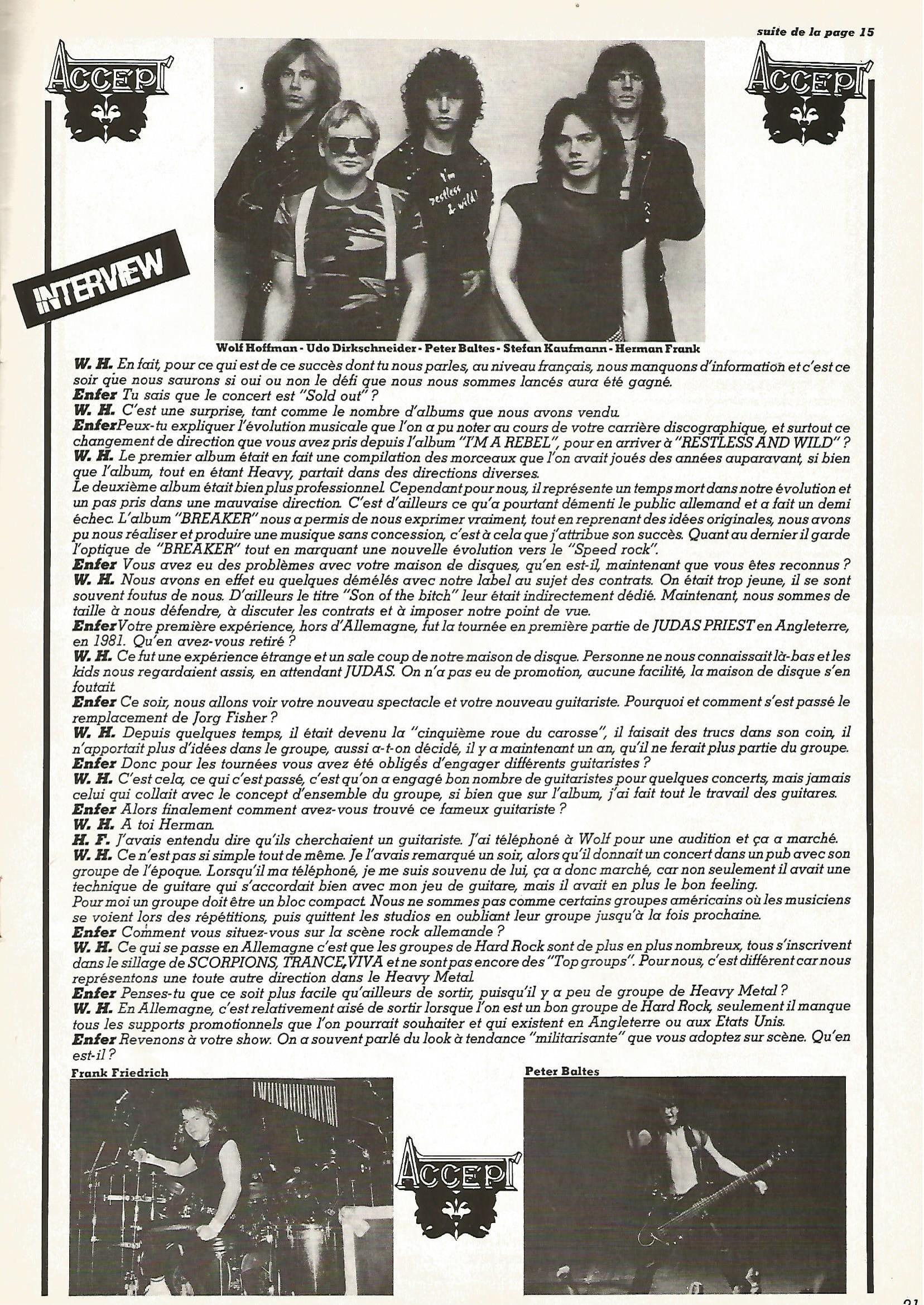 Interview ACCEPT dans ENFER MAG n°2 MAI 1983 (archive) Enfer_29