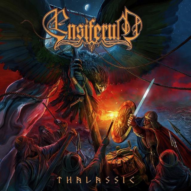 ENSIFERUM Thalassic (2020) Folk Metal FINLANDE Ensifc10