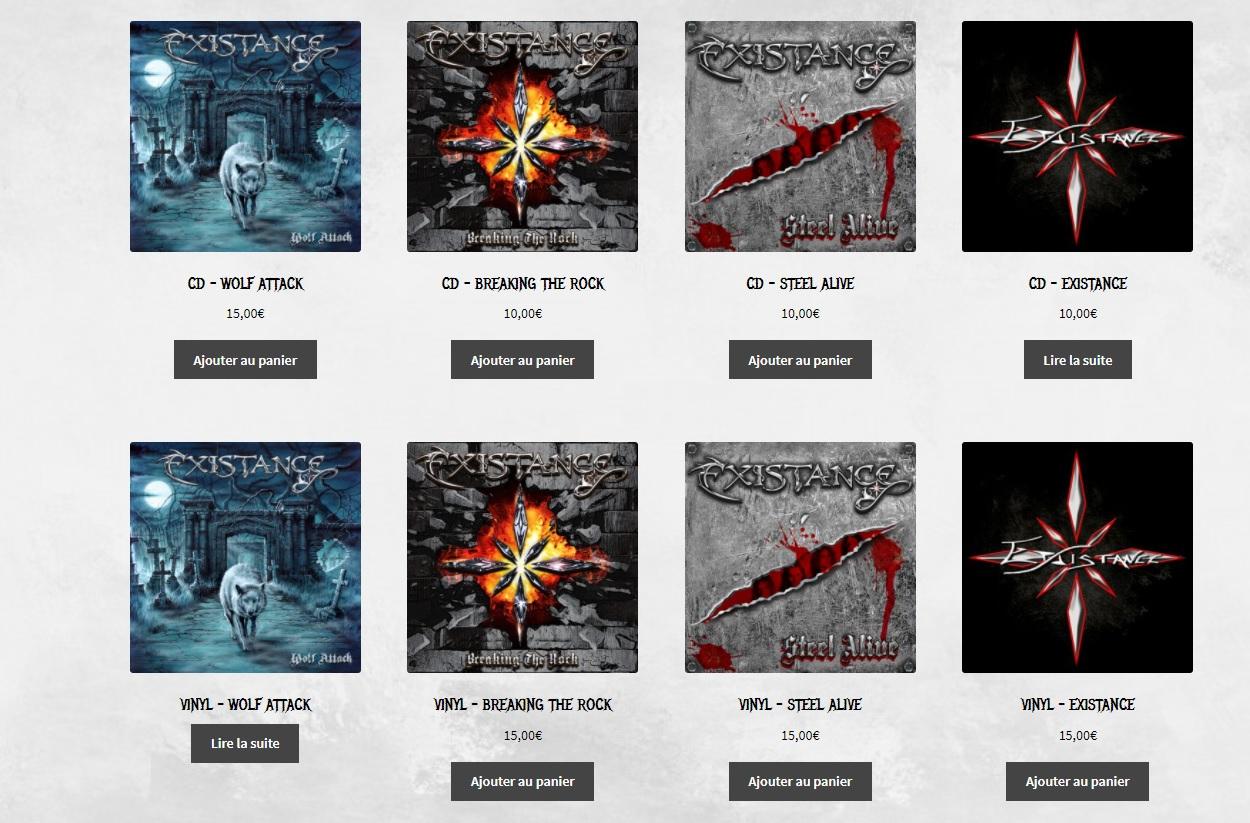 EXISTANCE (Heavy Metal)  Wolf Attack, le 29 Octobre 2021  Exista10