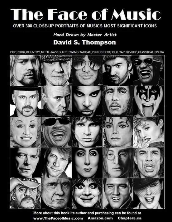 THE FACE OF MUSIC : portraits dessinés à la main réunis dans un livre ... Fb_img10
