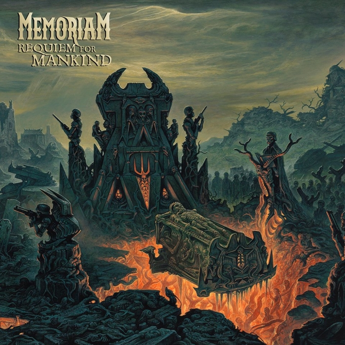 MEMORIAM Requiem For Mankind (2019) Death Metal ANGLETERRE Front10