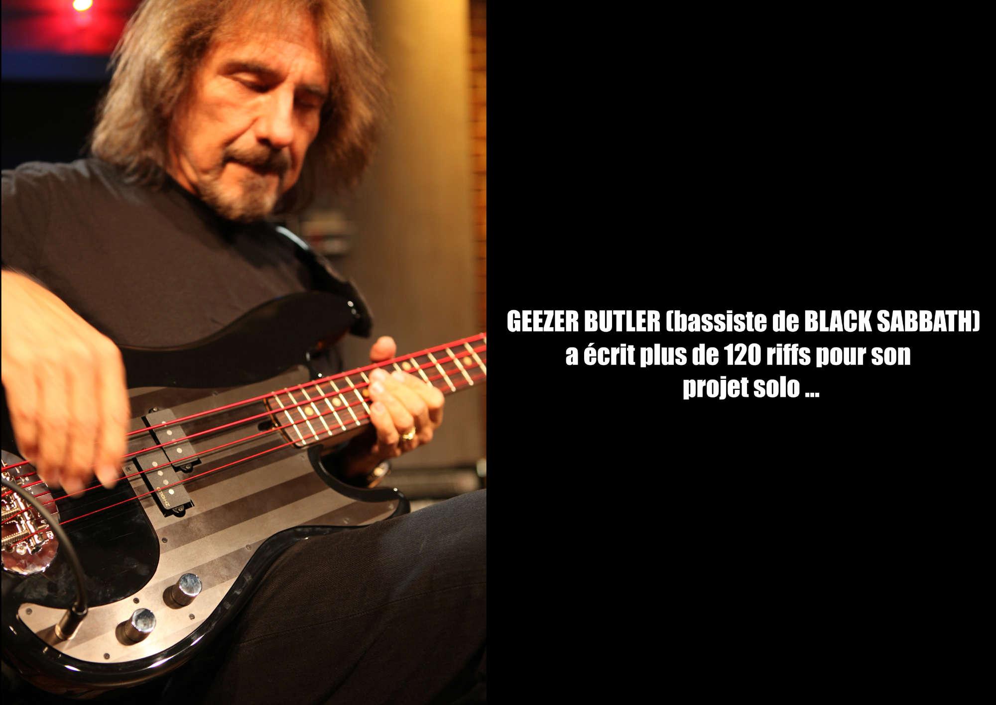 GEEZER BUTLER (bassiste de BLACK SABBATH) en projet solo ... Geezer10