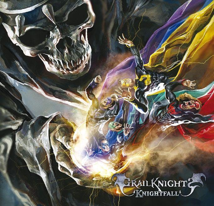 GRAILKNIGHTS Knightfall (2018) Métal de Supers-héros ! Grailk10